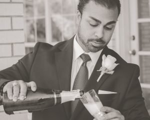 Wedding Champagner Toast McKinney